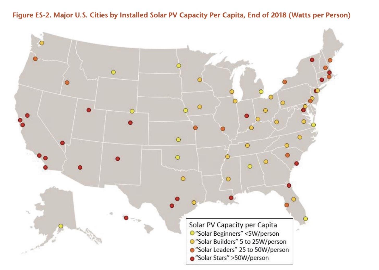 us solar cities