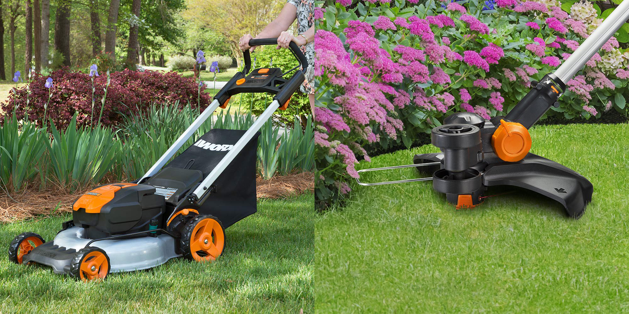 WORX electric outdoor tools 20% off highlight today's best Green Deals