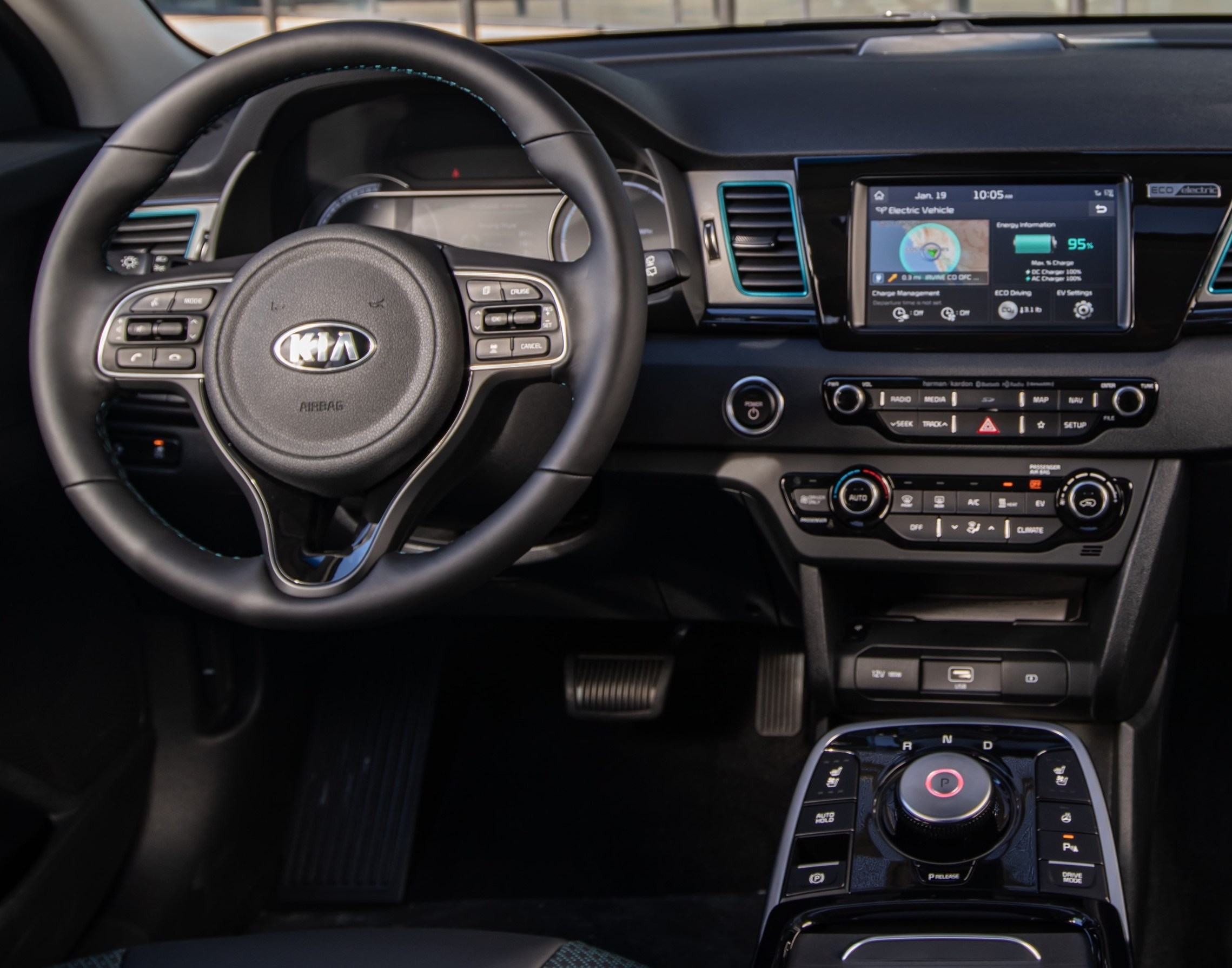 Image result for kia niro ev interior