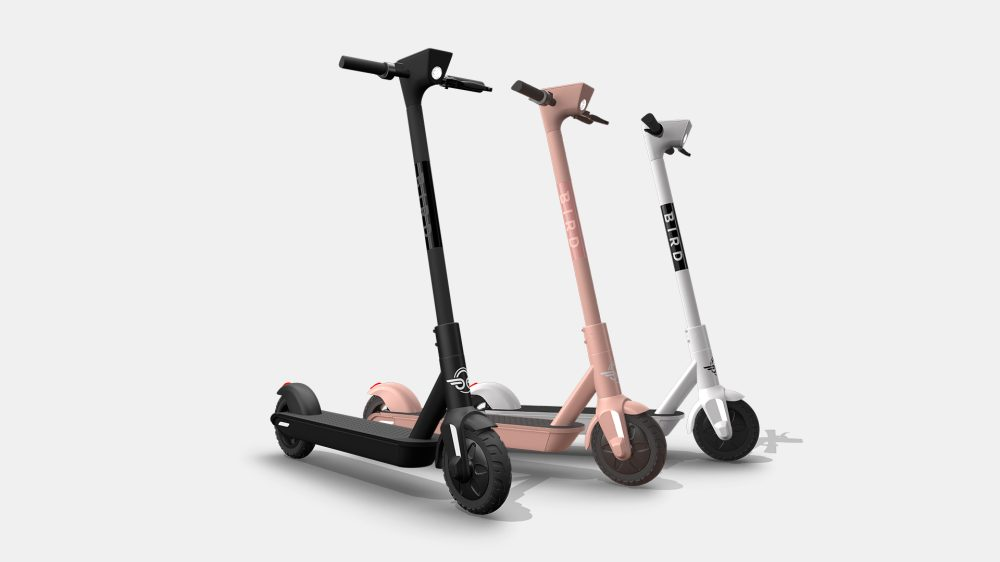 Bird One scooters