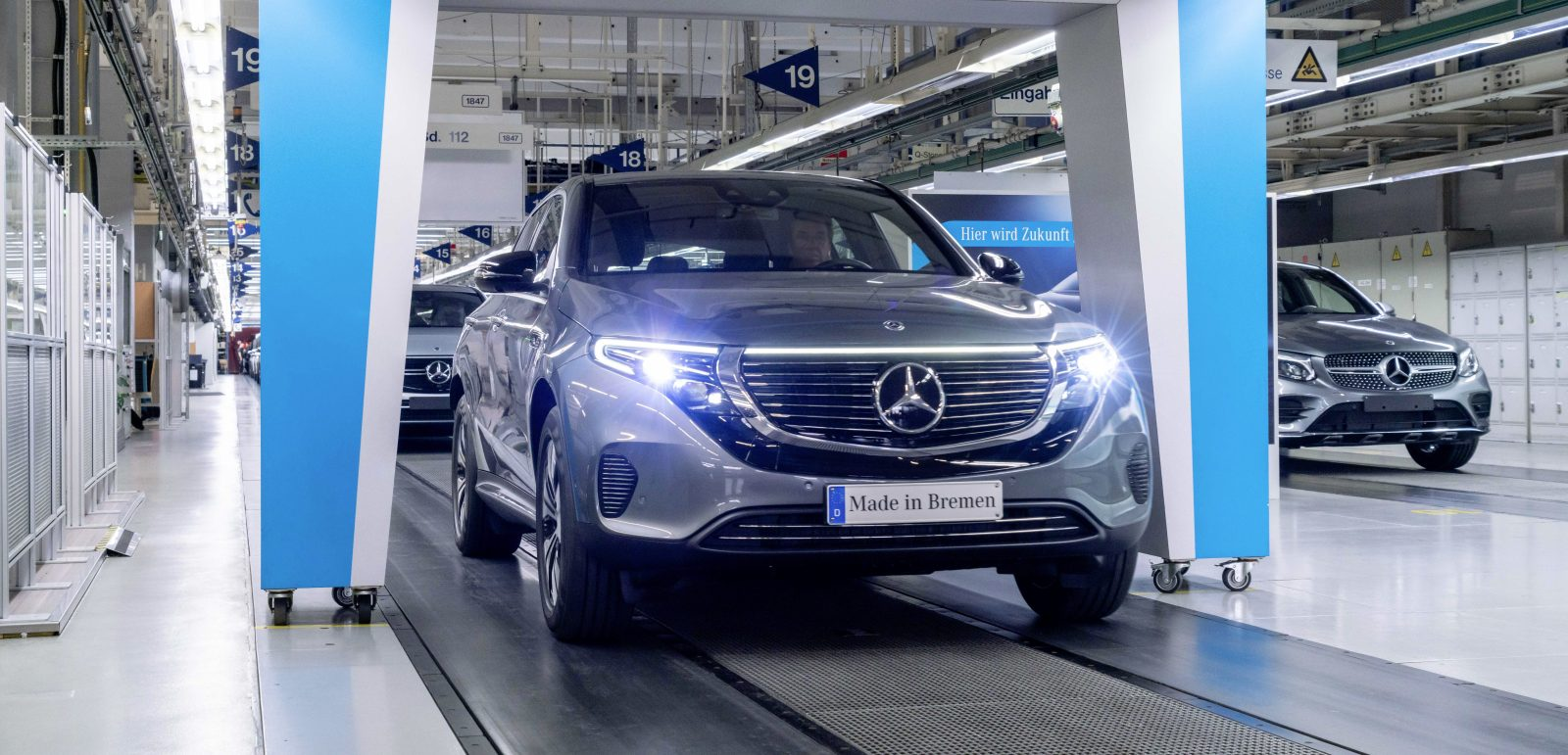 Mercedes Benz Starts Production Of Eqc Electric Suv