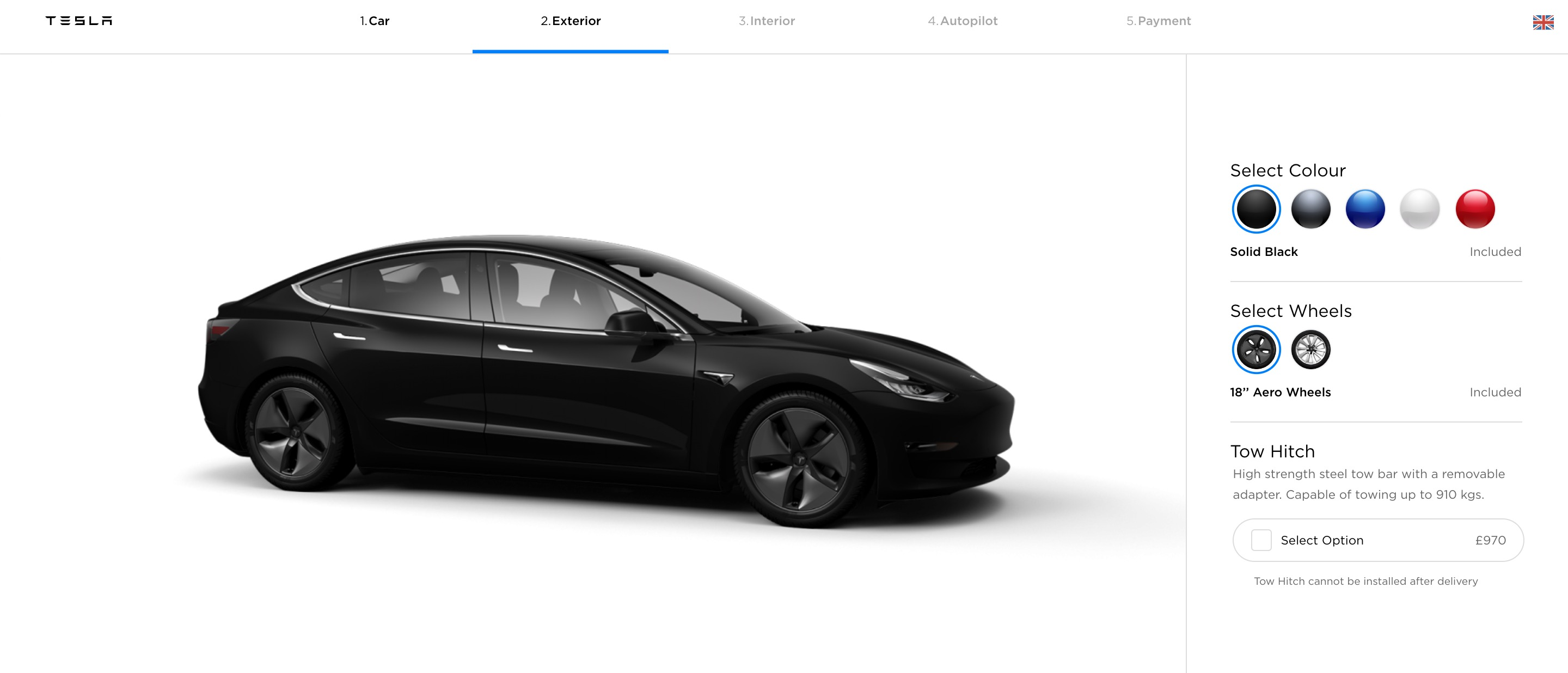 Tesla launches tow hitch for Model 3 - Electrek