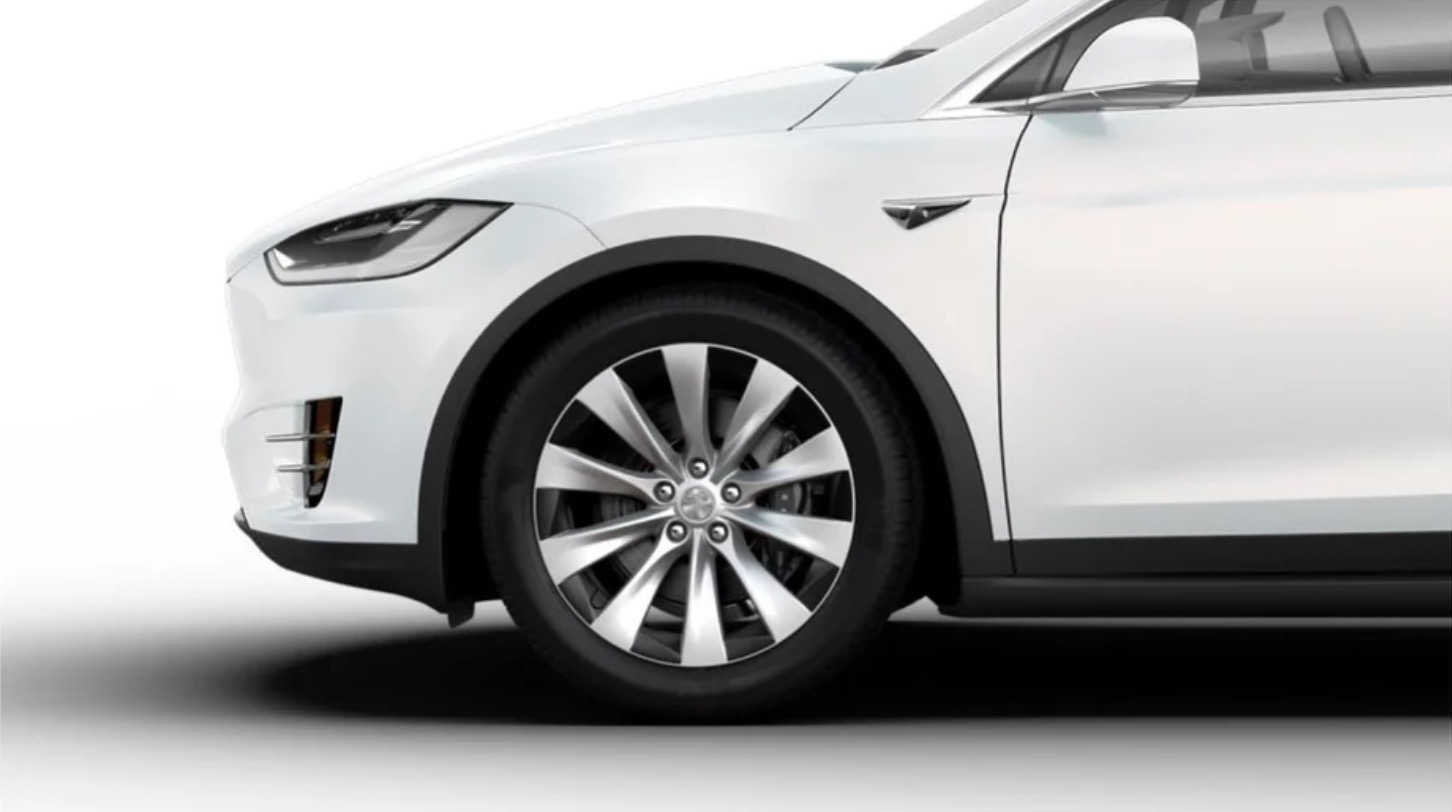 Tesla Releases New Wheel Design For Model X Electric Suv