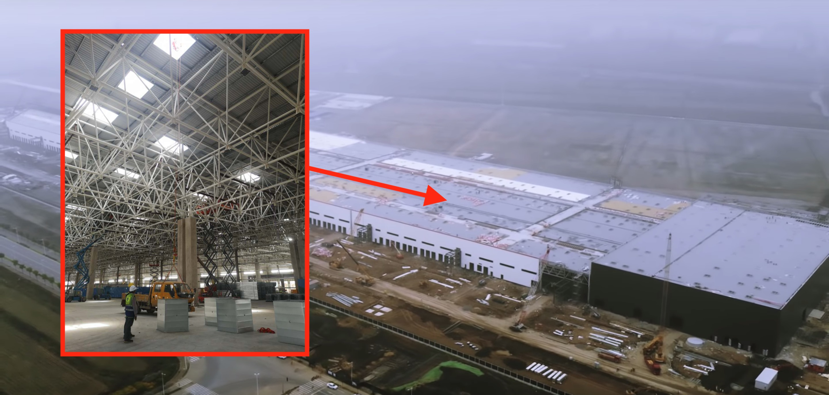 First look inside Tesla's Gigafactory 3 with leaked pictures