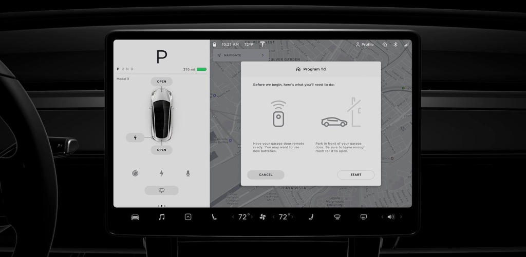 Tesla removes Homelink from standard Model 3 features, now ...
