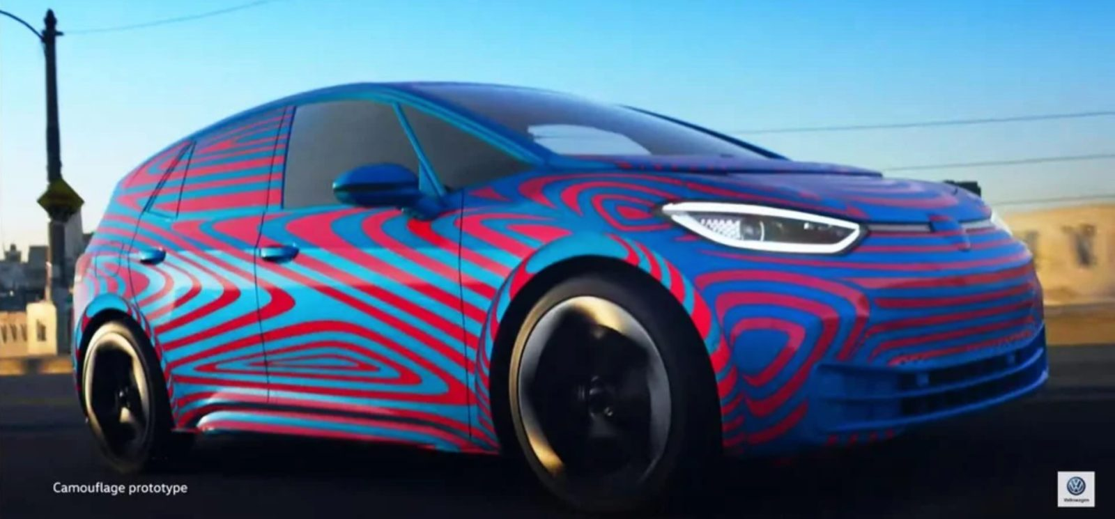 New Look At Vw S Id All Electric Hatchback