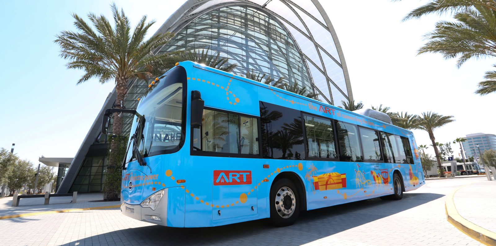 photo of Anaheim Transportation Network orders 40 BYD electric buses, 57% of fleet zero emission by 2020 image
