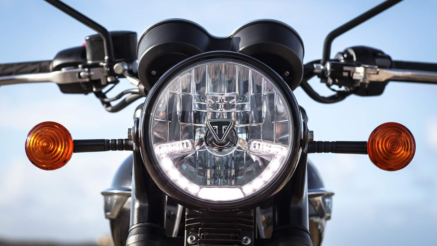 triumph electric motorcycle