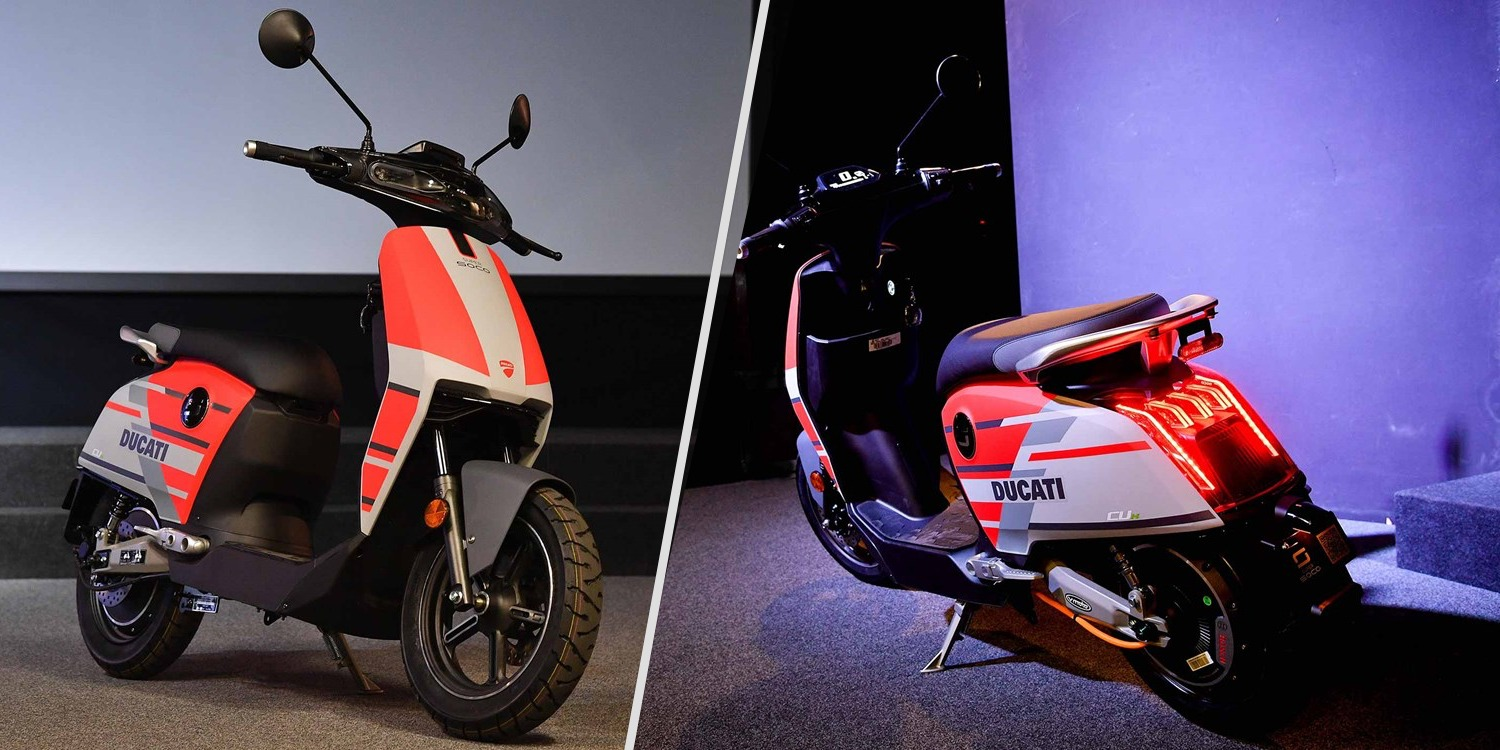 First Look At Ducatis New Electric Scooter What Do You Think