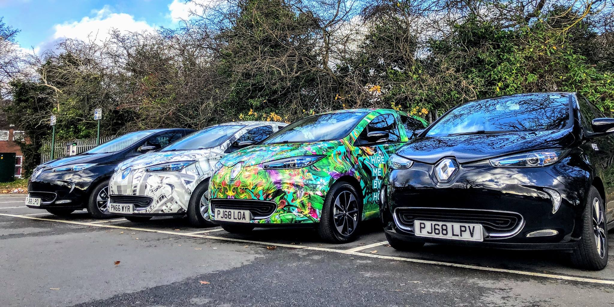 Vandals shut down UK electric car sharing program within months