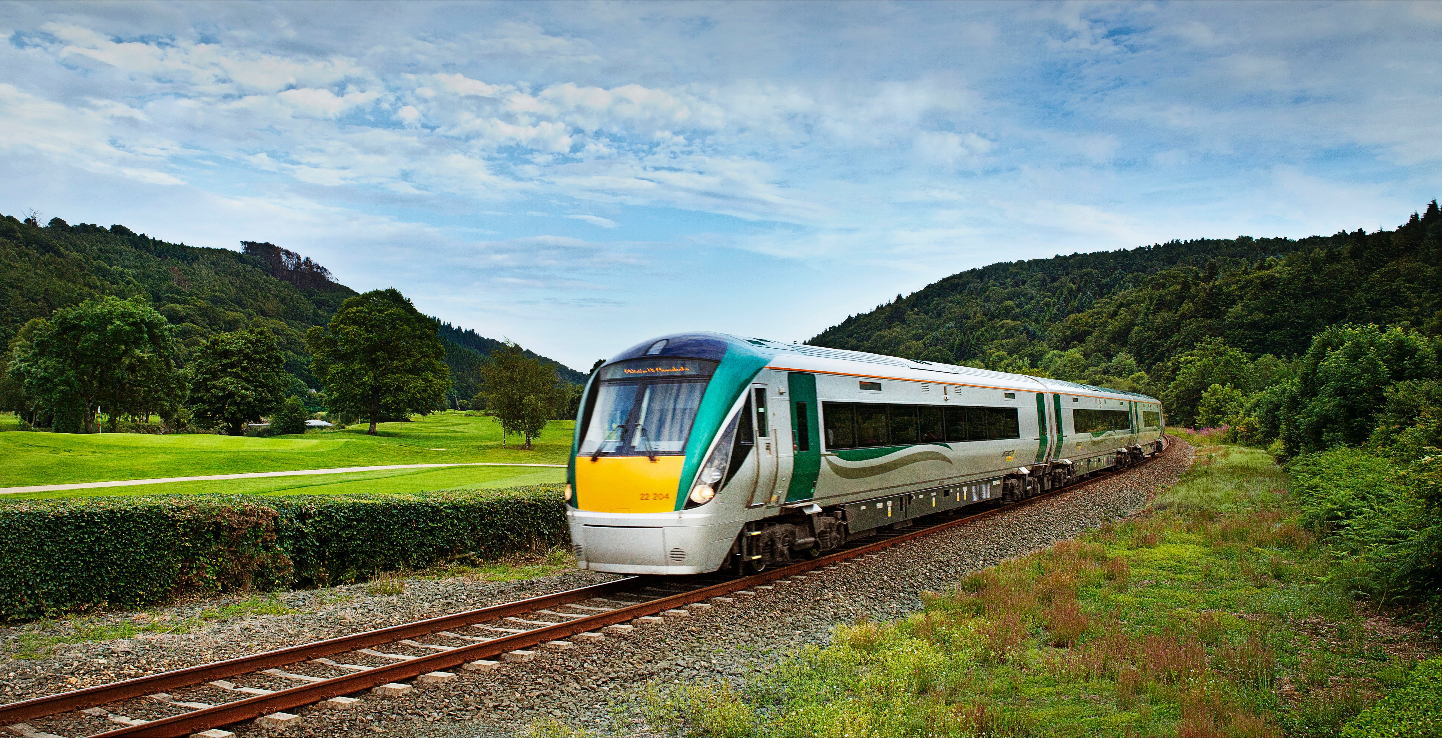 Ireland's railways going green — Irish Rail to order up to 600 battery electric trains