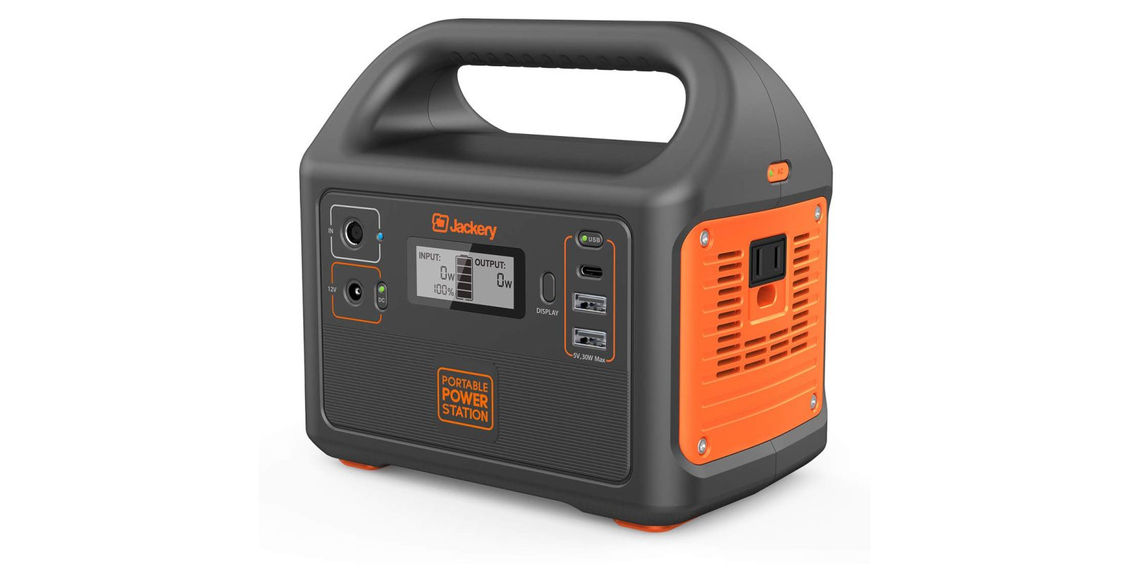 Pick Up The Jackery Portable Solar Generator For 105