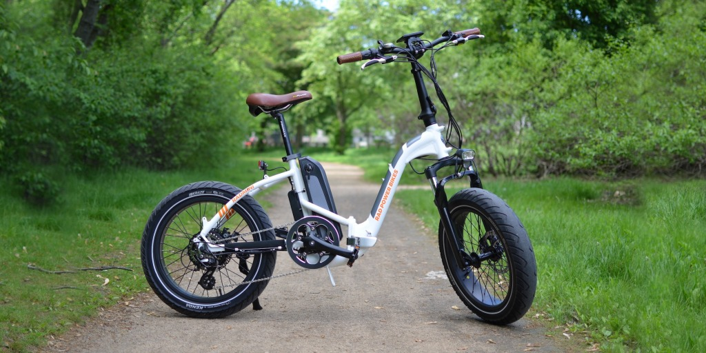Radmini Step Thru Folding Electric Fat Bike Review A