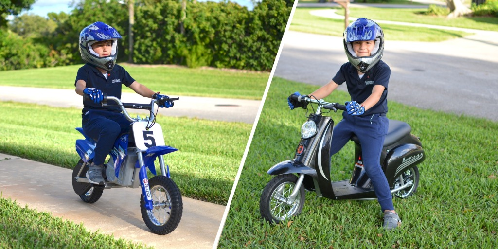 Review: These tiny Razor electric motorcycles could be your kid's first e-bike