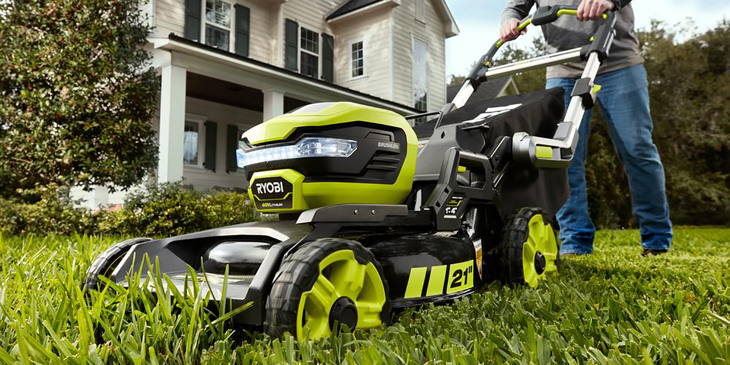 Ryobi S New Electric Self Propelled Lawn Mower Gets First
