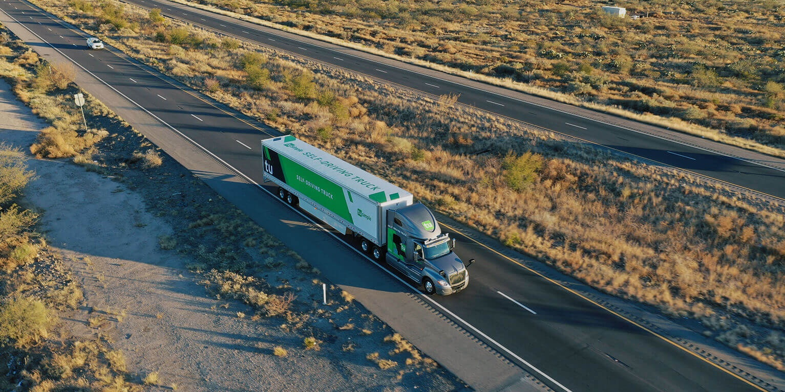Self-driving trucks hauling USPS mail between Phoenix and Dallas