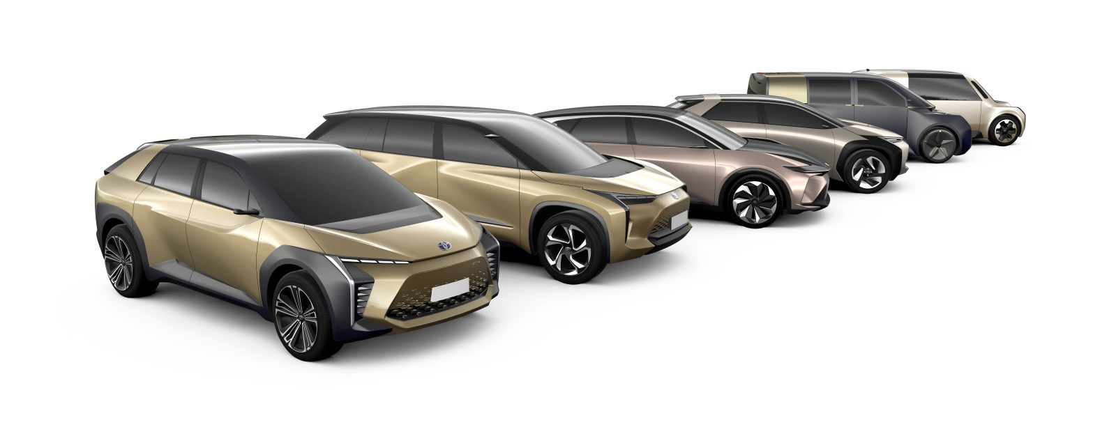 Toyota unveils images of upcoming all-electric cars, accelerates EV plans by 5 years