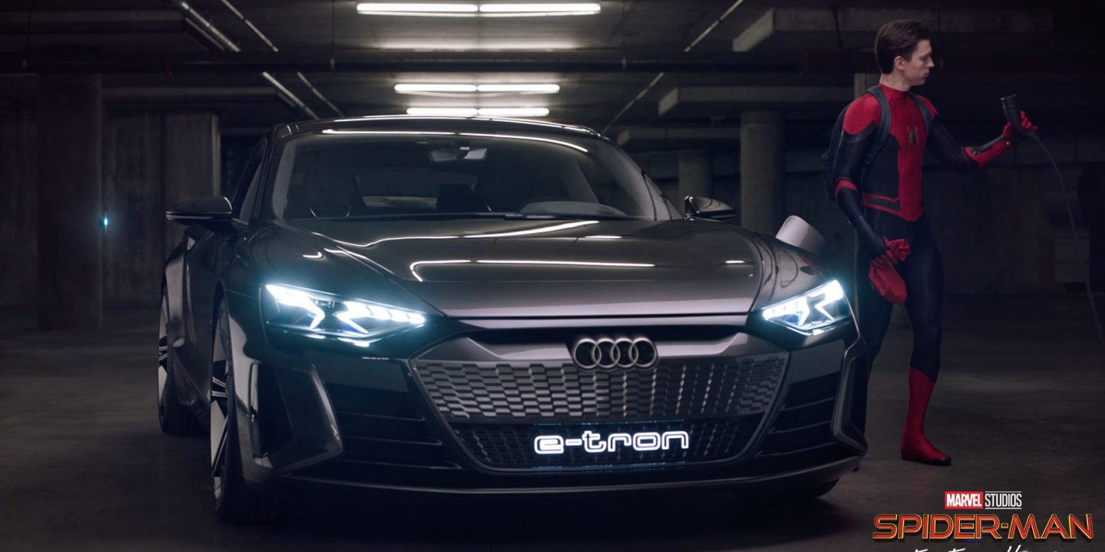 Audi expands movie product placement of electric cars, e-tron will be in new Spider-Man