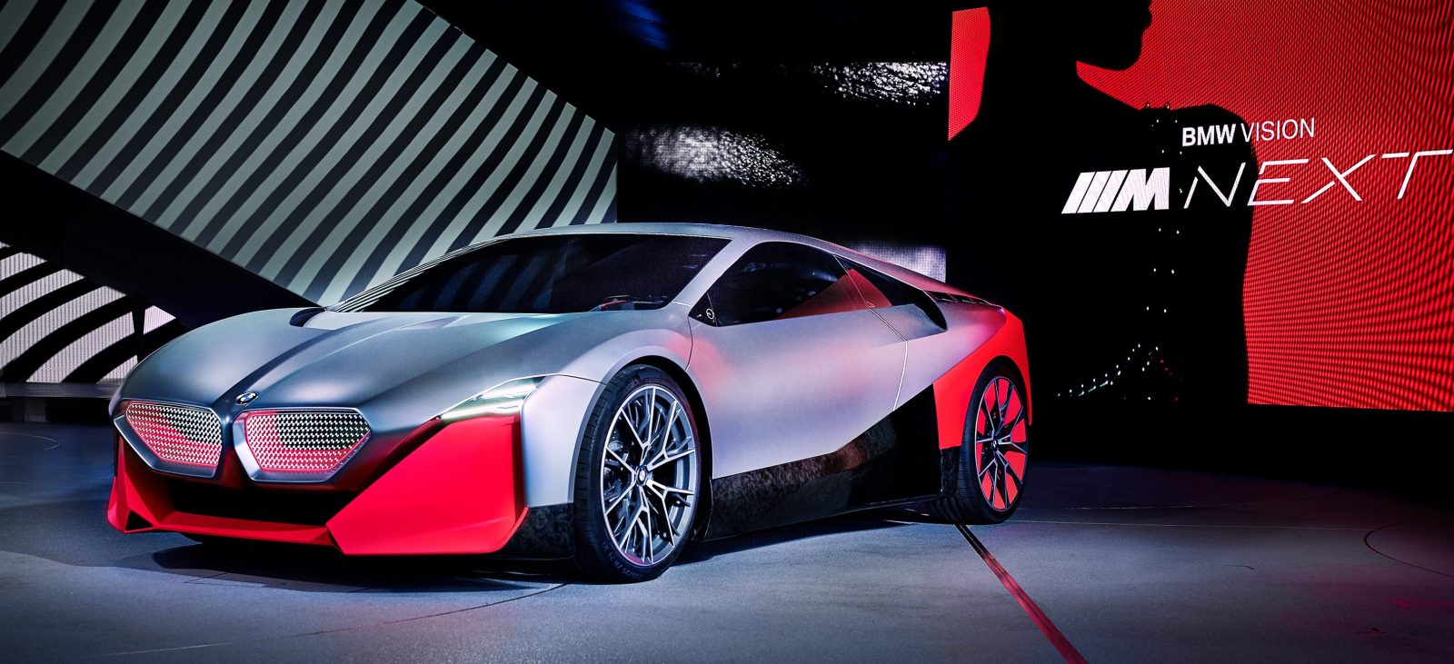 BMW unveils electric concept that looks like next-gen i8 sports car