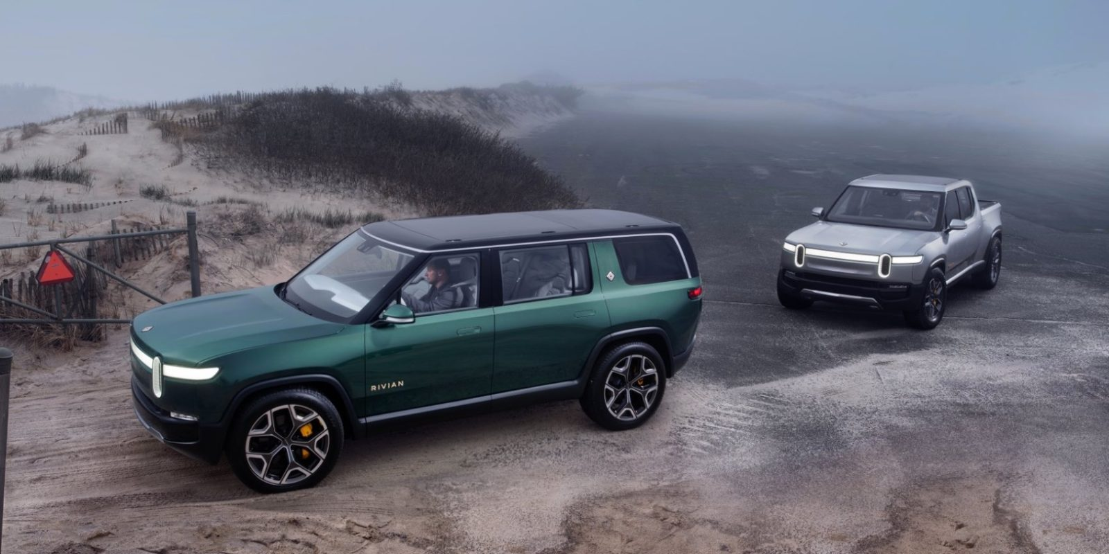 Rivian will offer electrochromic glass roof for its electric pickup truck and SUV