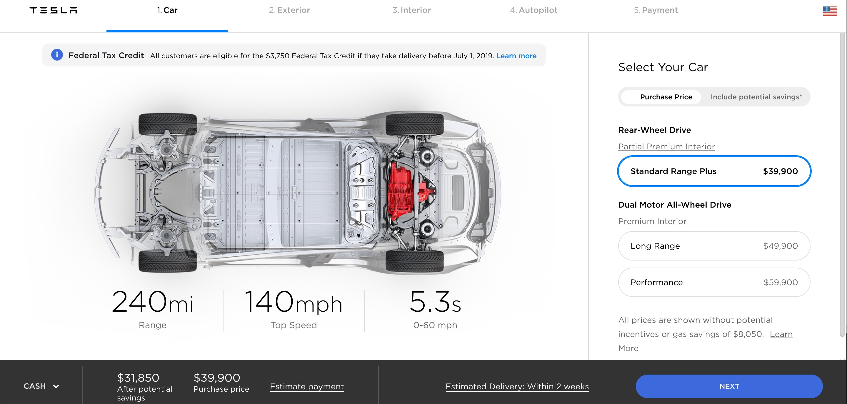 Tesla updates design studio to be more transparent about pricing | Electrek