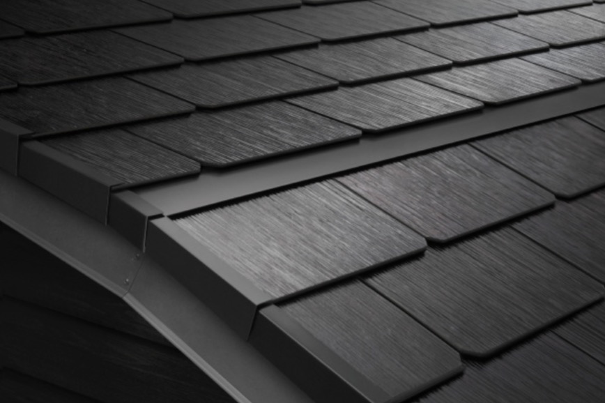 Tesla Solar Roof Order >> First Look At Tesla S Solar Roof Tile Technology With Custom
