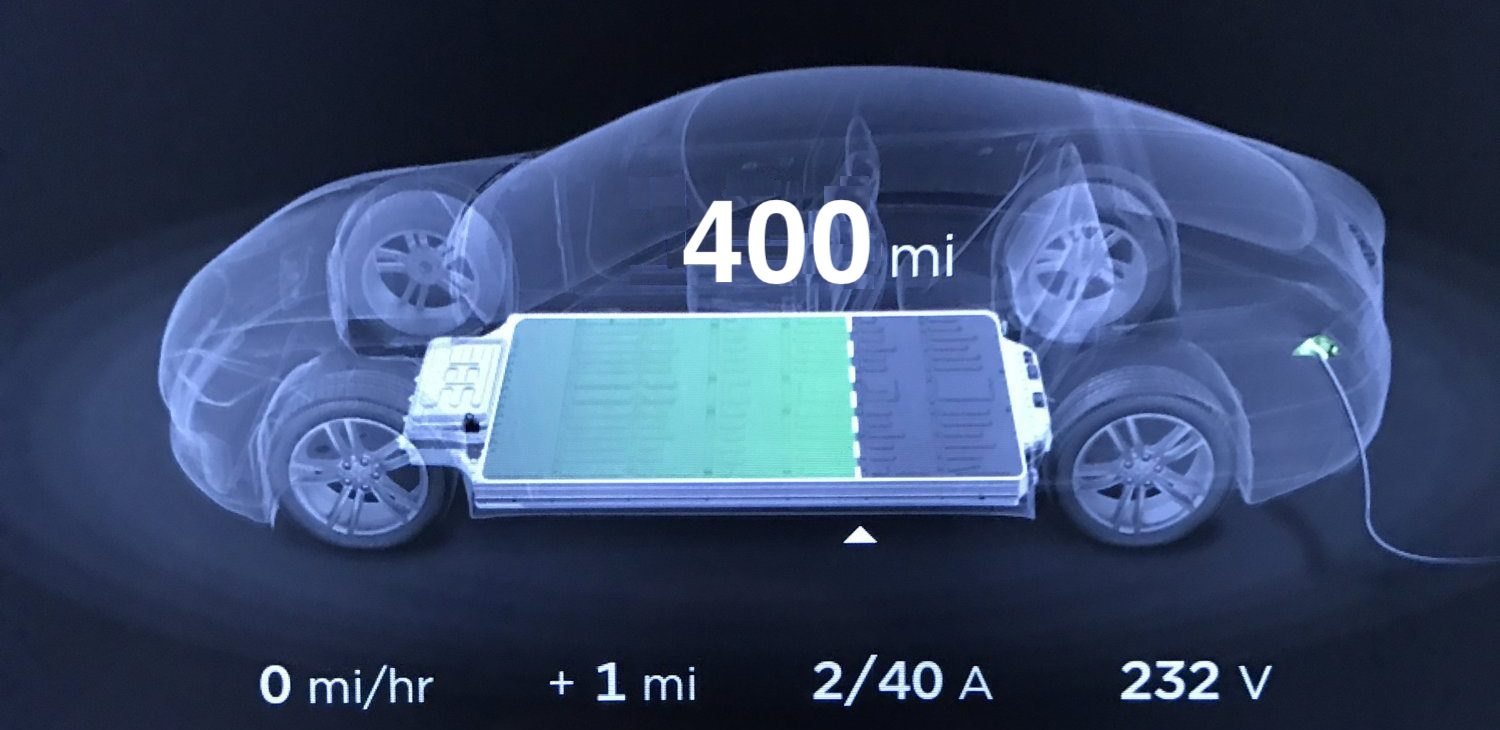 Tesla is working on new ~110 kWh battery pack for more than 400 miles of range - Electrek