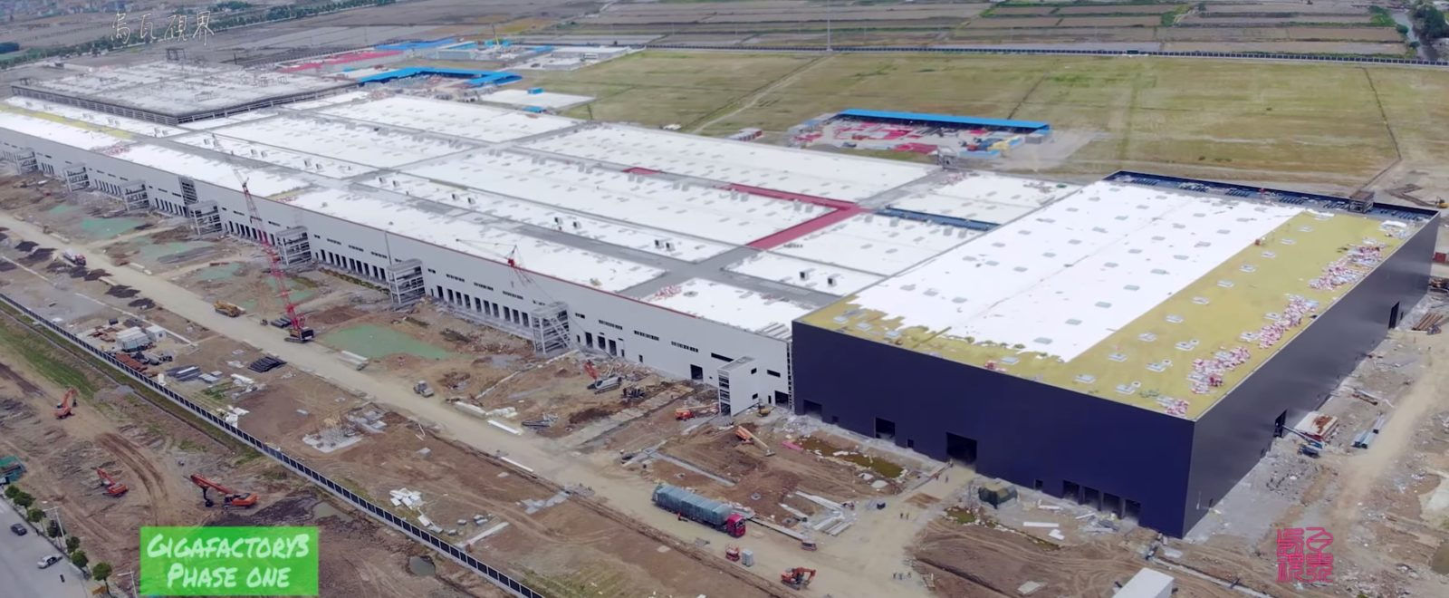 Tesla starts work on substation to power Gigafactory 3 ahead of production
