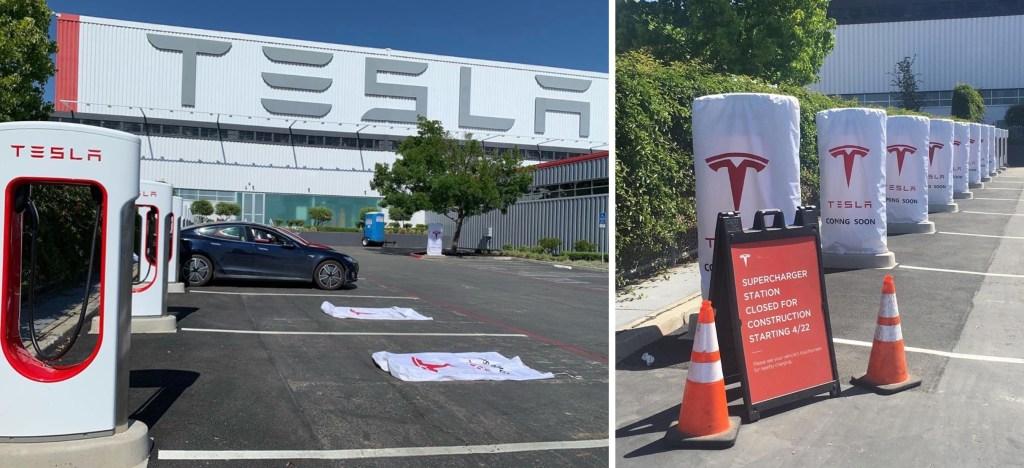 Mercedes Benz Fremont >> Tesla opens first public Supercharger V3 250kW station to ...