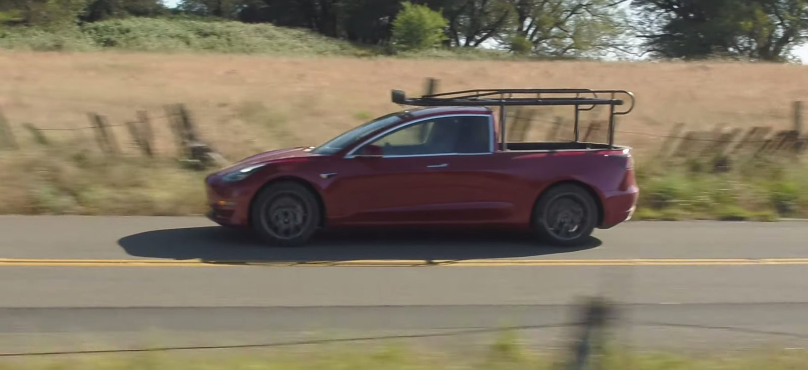 The first Tesla Pickup truck is here – sort of