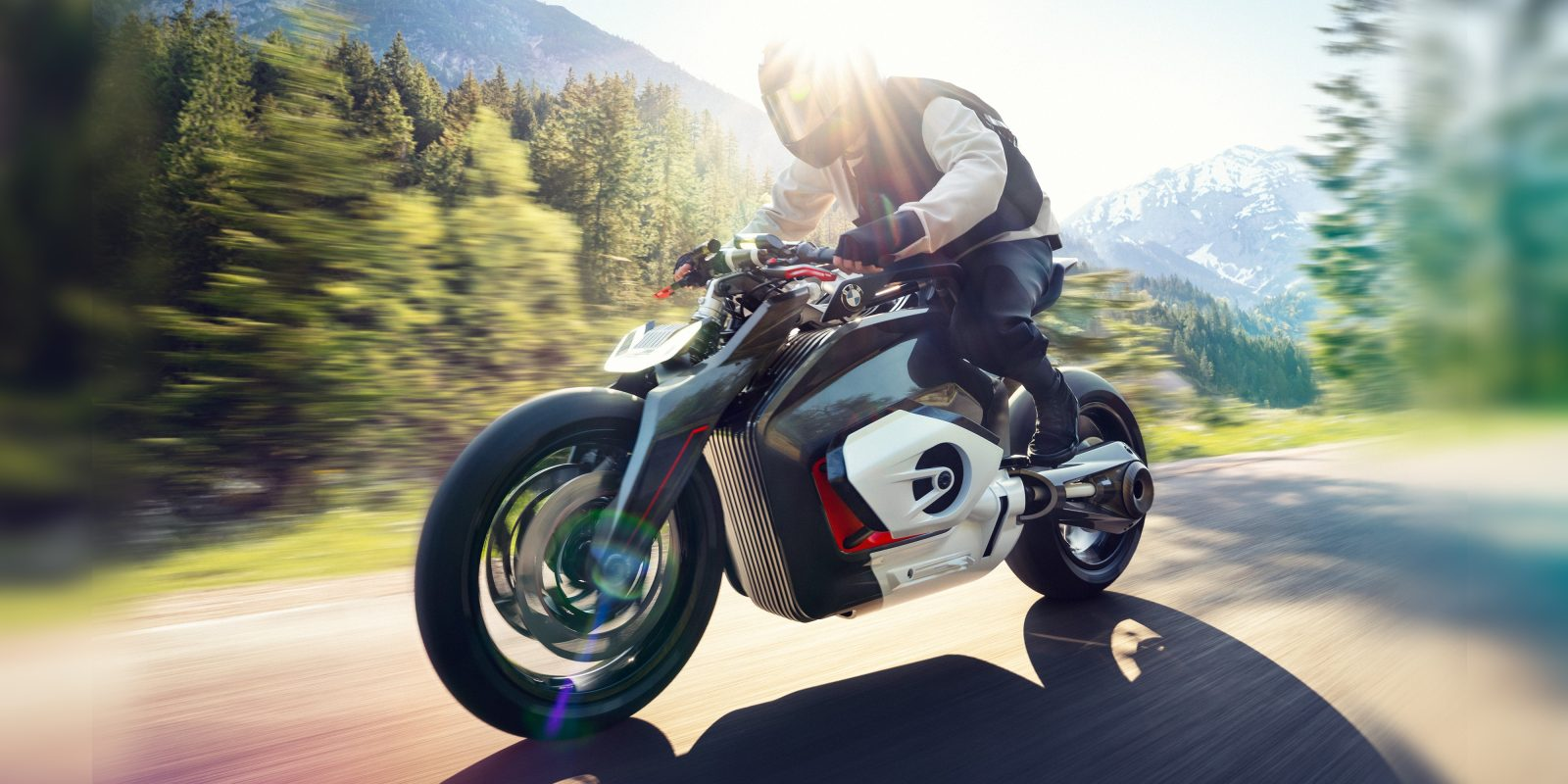 Bmw Unveils Its Latest Electric Motorcycle Concept The Vision Dc