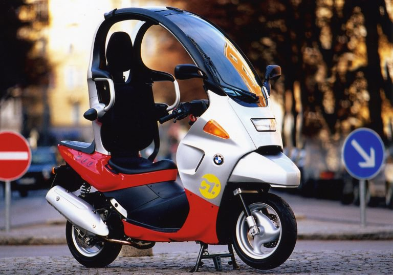Bmw C Evolution Electric Scooter Could Be Getting A Roof And