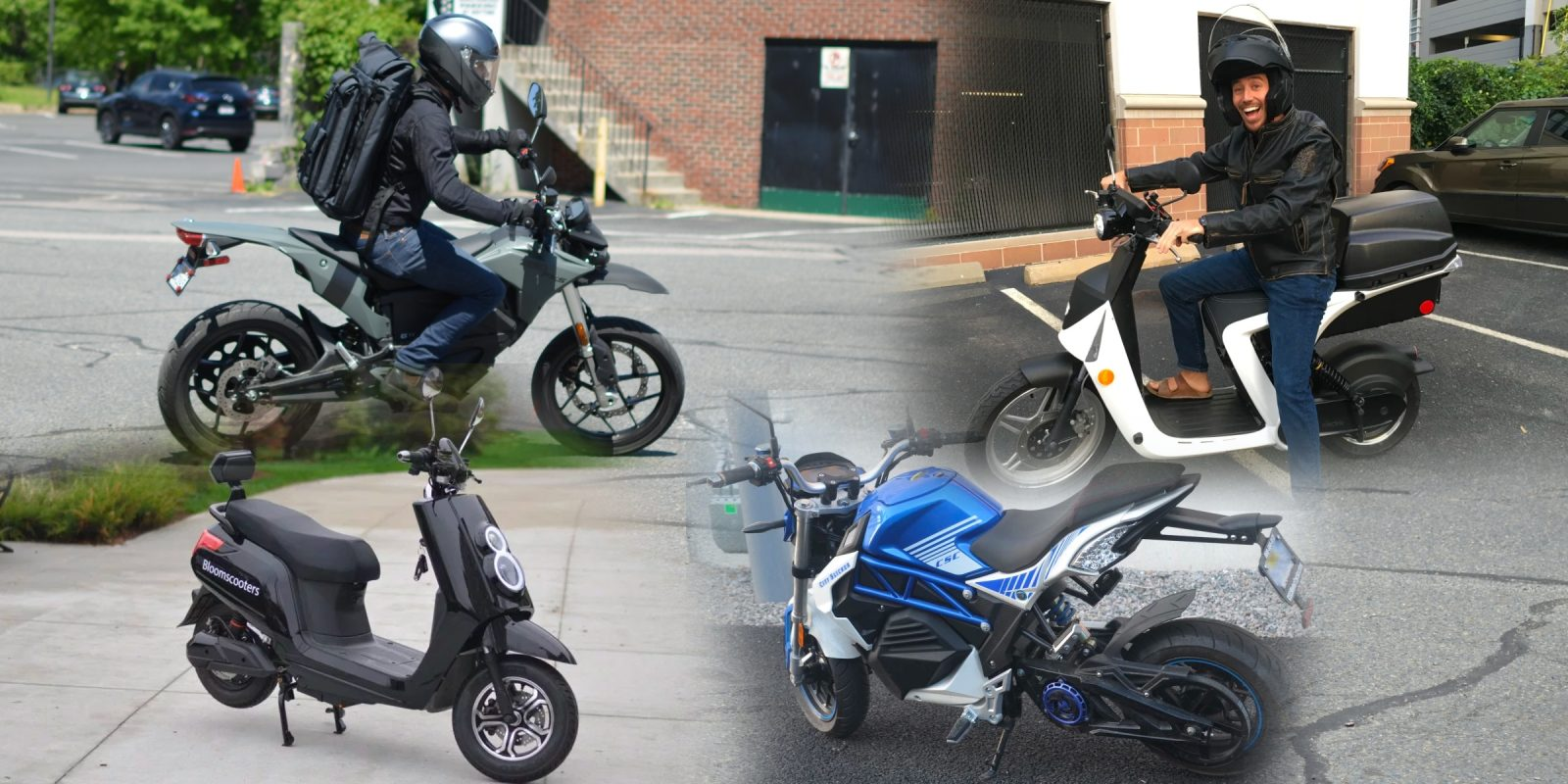 Urban electric motorcycle and scooter showdown: Zero FXS vs