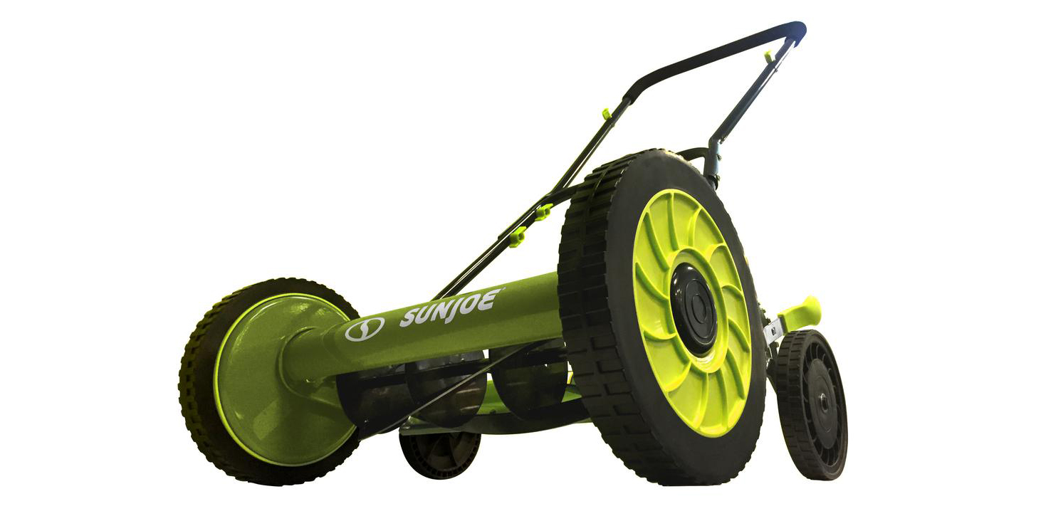 Sun Joe 16-inch Reel Lawn Mower is $68, more in today's Green Deals