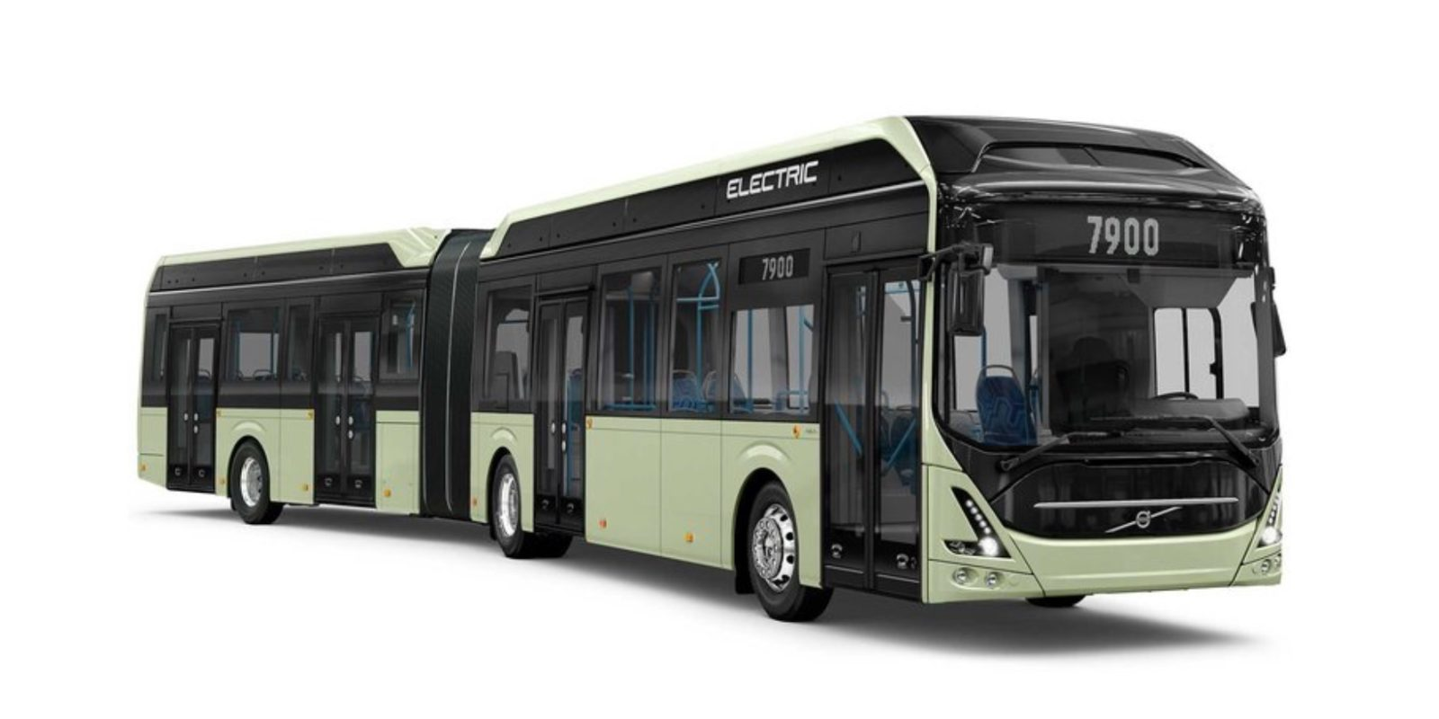 Volvo introduces new all-electric articulated bus for up to 150 passengers