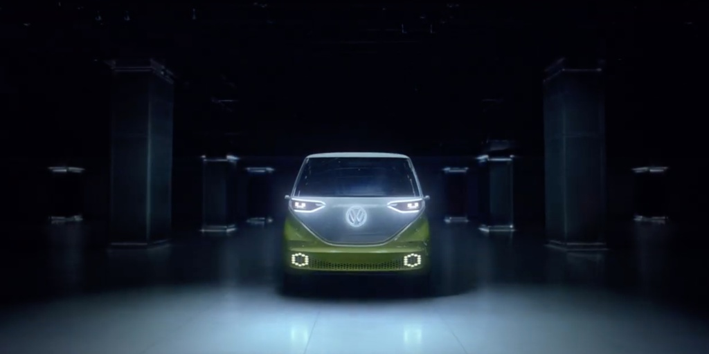 volkswagens  electric vehicle ad  references emissions scandal teases id buzz