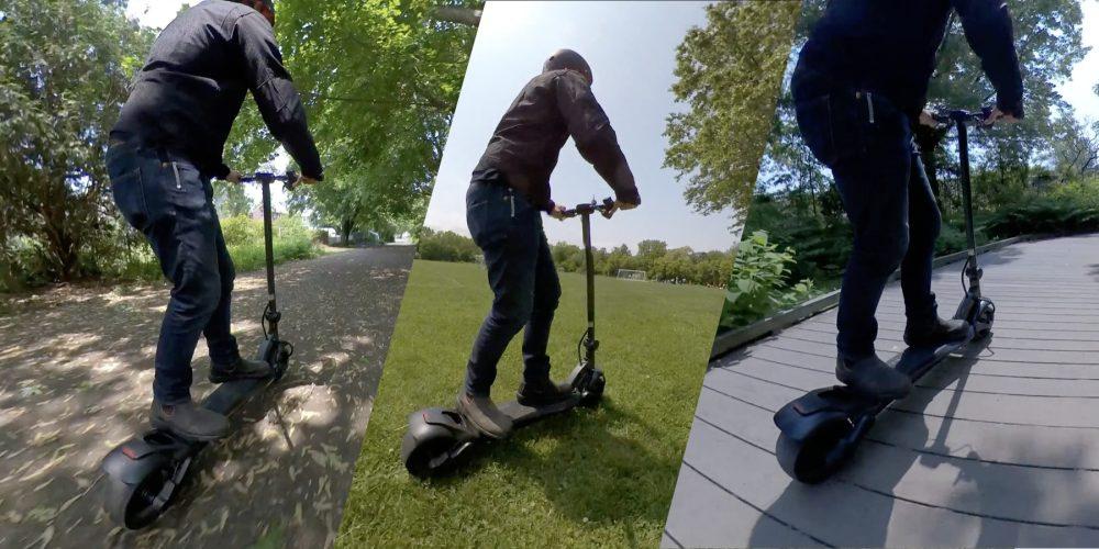 Mercane WideWheel electric scooter