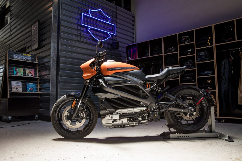 Harley Davidson LiveWire review test ride