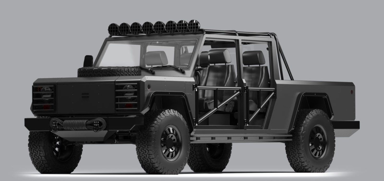 Customize My Truck >> Bollinger Unveils Custom Electric Truck Configurations