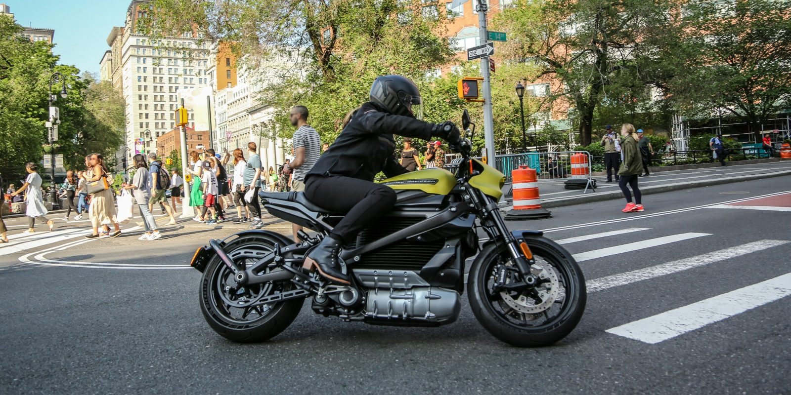 Full specs revealed on the 78 kW Harley-Davidson LiveWire electric motorcycle
