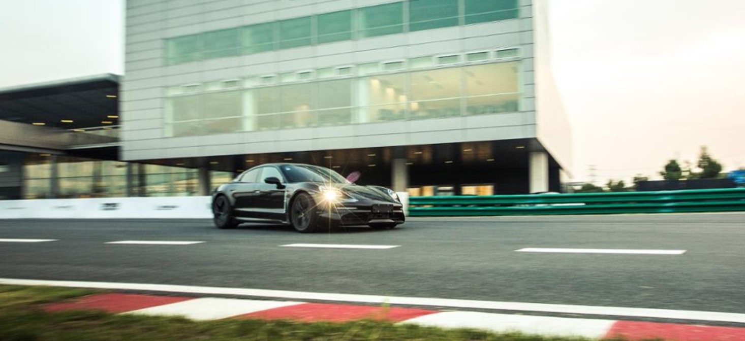 Porsche officially debuts Taycan prototype, showcases the electric car on racetracks around the world