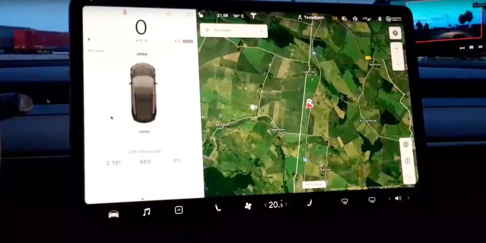 Tesla YouTuber Bjørn Nyland breaks 24-hour electric car distance record — 2,781km