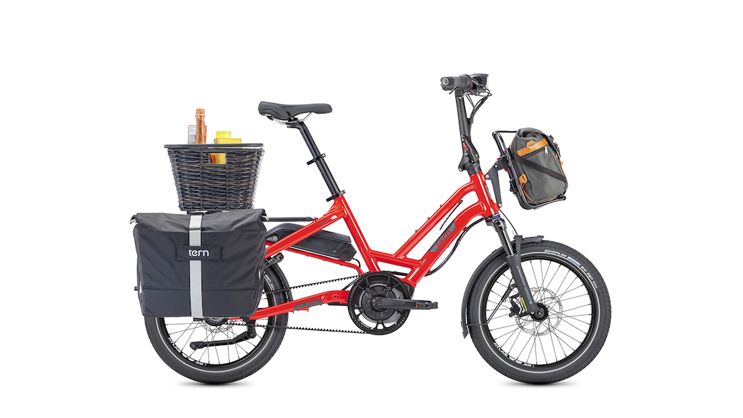 Tern's new HSD electric bicycle is a heavy haulin' little