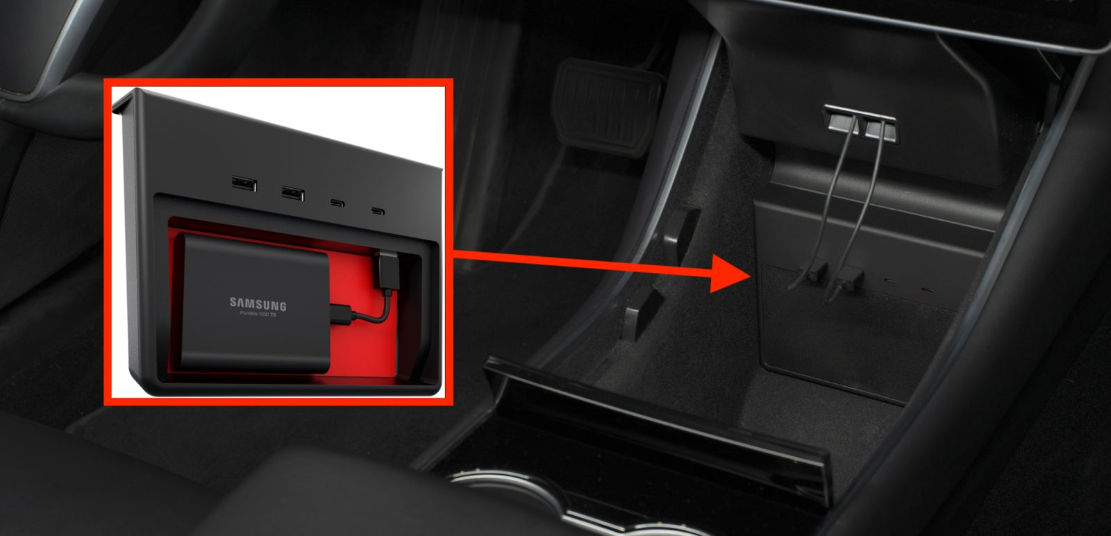 How Long Does A Tesla Take To Charge >> Jeda Launches New Tesla Model 3 Usb Hub For Seamless Use Of