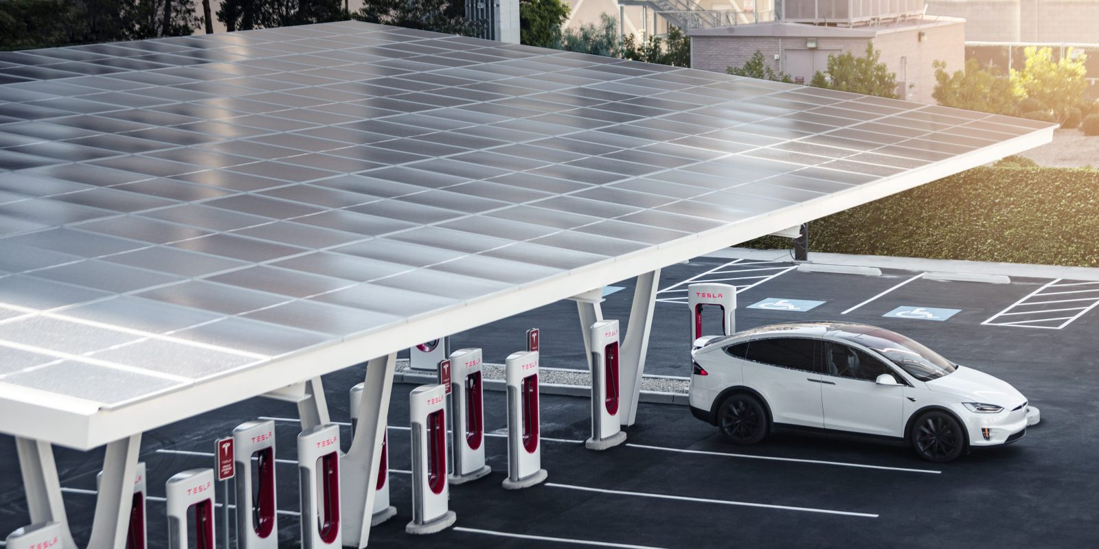 Tesla is opening a rare new Supercharger V3 station