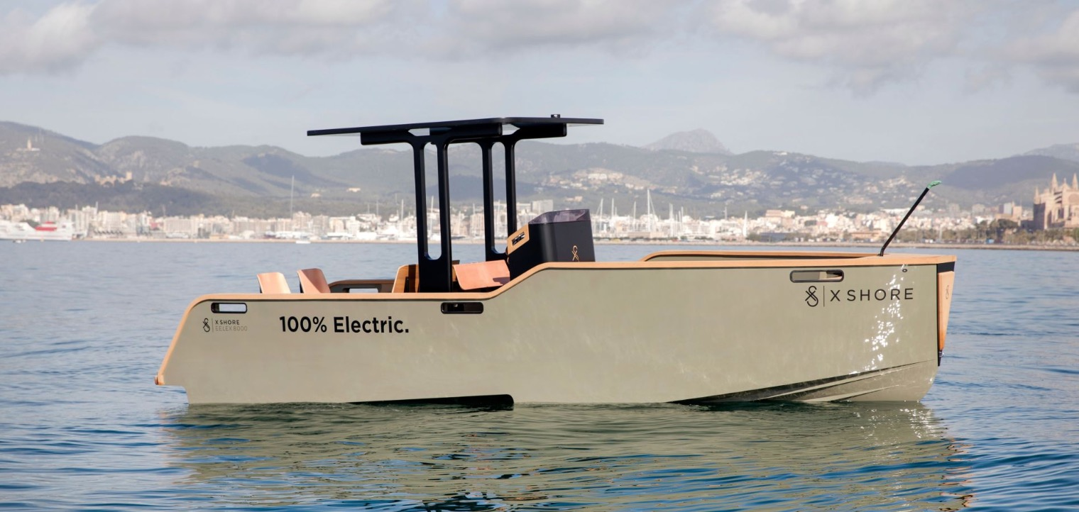 Tesla-inspired electric boat unveiled: X Shore Eelex 8000
