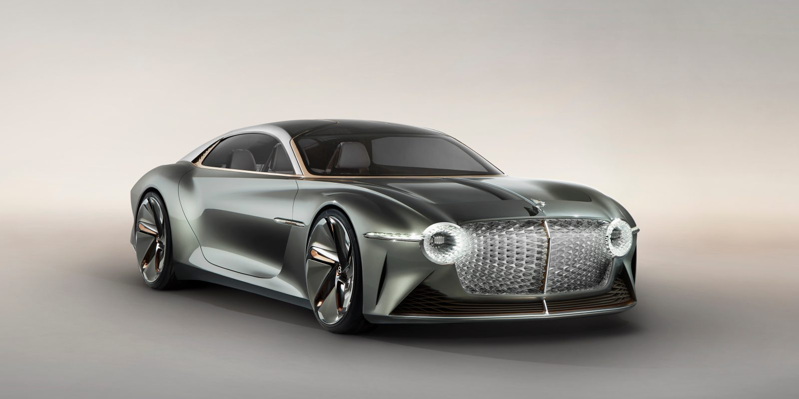 Bentley reveals its slick all-electric EXP 100 GT concept car which imagines driving in 2035