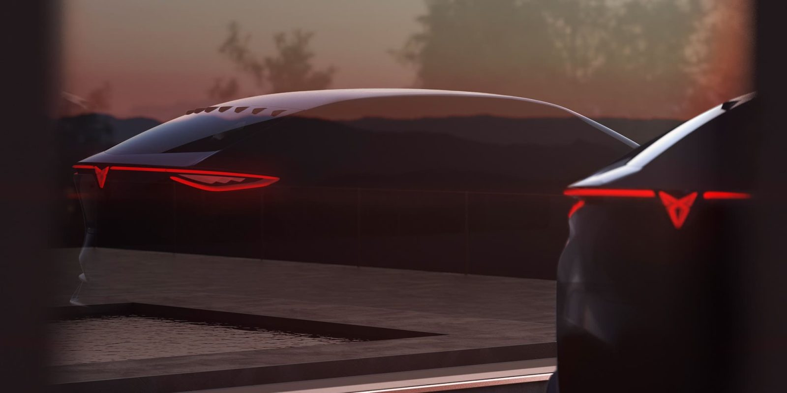 CUPRA teases new all-electric concept crossover before Frankfurt debut
