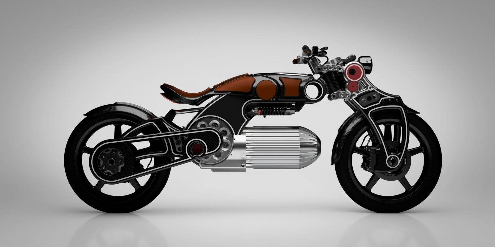 This well-endowed electric motorcycle is actually prepping for production