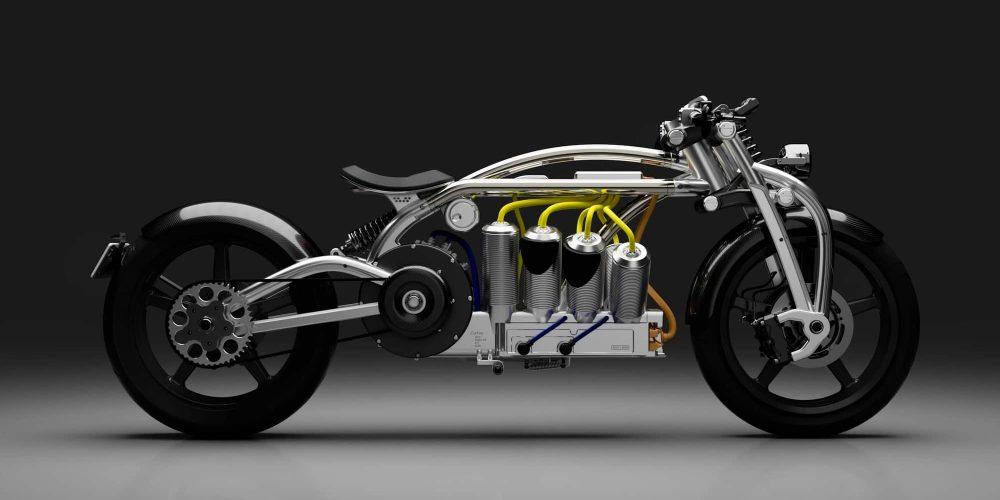 электрический мотоцикл curtiss zeus v8